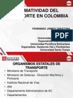 DIAPOSITIVAS TRANSPORTE URBANO  CLASE 3 NORMAS DEL TRANSPORTE Y ENTIDADES QUE INTERVIENEN..pdf