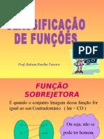 Matemática PPT - Classificação de Funções