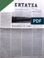 Libertatea anul VII, nr. 57, sept. 1958