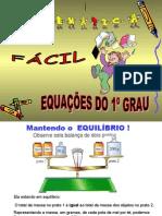 Matemática PPT - Equação 1º Grau