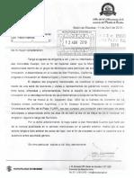 Nota del Intendente al HCD 11-04-2019