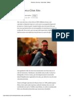 Entrevista a César Aira – daniel molina – Medium