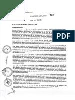DECRETO DE ALCALDÍA N° 003 18.02.2019
