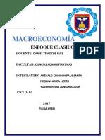 MACROECONOMÍA