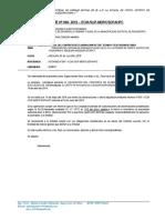 INFORME Nº 008 Liquidacion