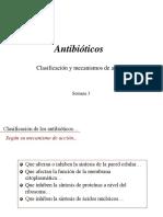 Clase 3 Antibioticos