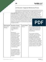 Sample Business Impact Assessment