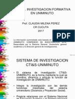 Tema 2. Sistema Uniminuto Investigacion