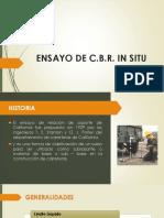 ENSAYO DE C.B.R. IN SITU