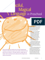 ecd-131-article-using fanciful magical language in preschool