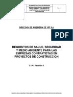 REQUISITOS DE SALUD, SEGURIDAD Y MEDIO AMBIENTE PARA CONTRATISTAS.PDF