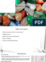 mineralresourcesofpakistan By sana ahmed