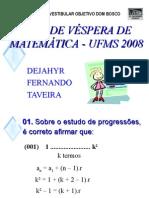 Matemática PPT - Progressões