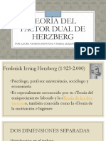Teoría del factor dual de Herzberg