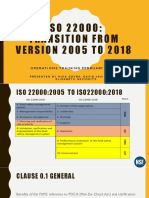 ISO 22000 Transition Training Powerpoint FINAL 02-20-19