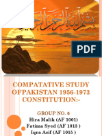 COMPATATIVE STUDY OF PAKISTAN 1956-1973 CONSTITUTION