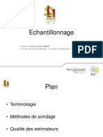 echantillonage