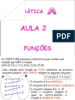 Matemática PPT - Aula 02 - Funções I