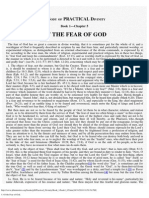 5. Of the Fear of God.