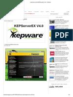 Install and Unlock KEPServerEx V4.0