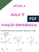 Matemática PPT - Aula 05 - Função Exponencial