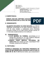 Terceria Preferente de Pago - Viclhez Segura 03-08-2011