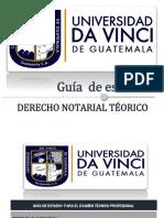 11. Guía de Derecho Notarial Teórico
