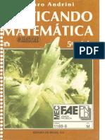 Livro Mestre (Professor) - Praticando Matemática 5ª Serie - Alvaro Andrini