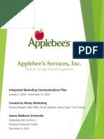 monty marketing imc plan for applebees final version