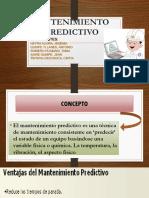 MANTENIMIENTO PREDICTIVO- TECNICAS