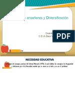 Co – Enseñanza y Diversificación