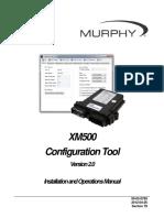 00-02-0789 XM500 Configuration Tool IOM