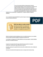 Gestión Del Riesgo de Desastres en La Formulación Del Plan de Ordenamiento Territorial