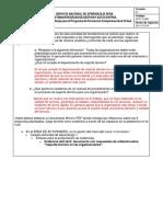 """Respuestas de Reflexión Sobre """"Soporte Técnico en Las Organizaciones""""."""