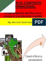 La Participación Del Perú en El Comercio y