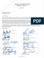 MO Delegation Letter to President Flood Emergency Declaration