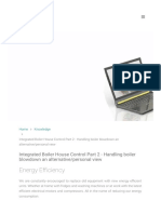 Integrated Boiler House Control Part 2 Handling Bo
