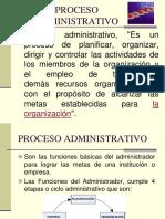 Proceso Administrativo Clases
