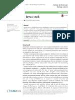 Cells of Human Breast Milk
