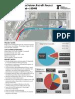 Center Street Bridge Seismic Retrofit Fact Sheet