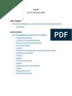 LEY 38 de 31 de Julio de 2000 - Procuraduría de La Administración
