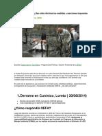 Análisis de La Spda Han Sido Suficientes Medidad Sanciones a Petroperú