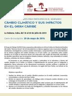 CLACSO - Seminarios Cambio Climatico Cuba