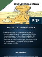 Mecanica de Erosion Eolica