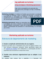 SLIDES AULA 1 Marketing Aplicado Ao Turismo