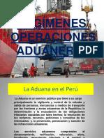 regimenes  operaciones aduaneras