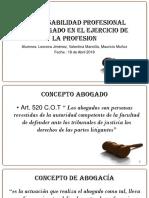 responsabilidad profesional de abogado Chile