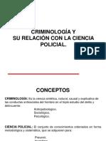 Criminologia- Ciencia Policial