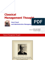 i 47 0 Classical Management Thought- H. Fayol