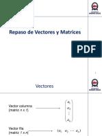 Repaso de Vectores y Matrices